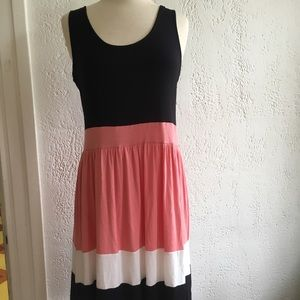NWOT pretty striped dress by pink rose